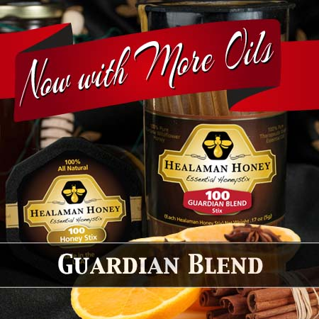 guardian blend honey stix