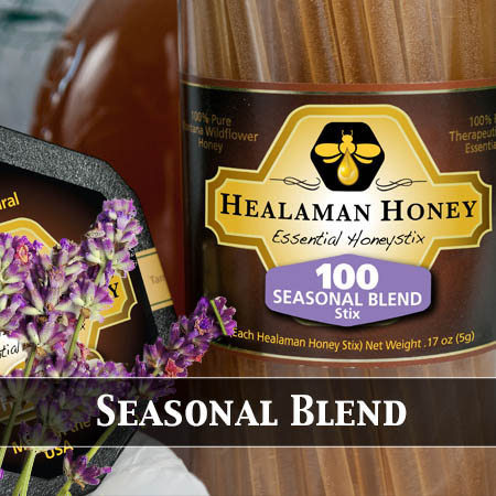 seasonal blend honey stix