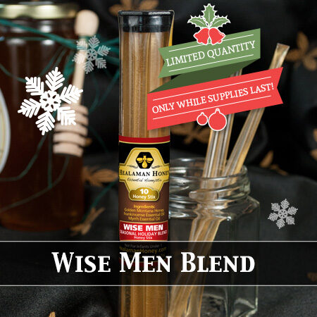 wise men honey sticks