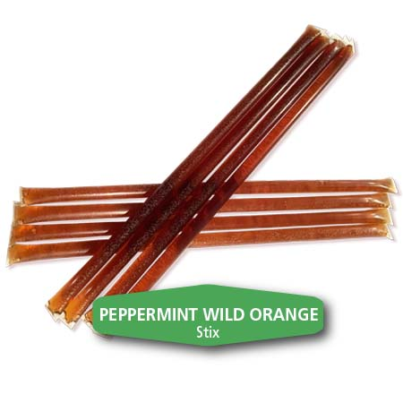 peppermint wild orange honey stix