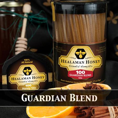 guardian blend honey stix