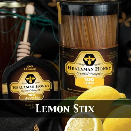 lemon honey stix