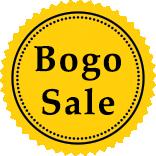 Bogo Sale Label